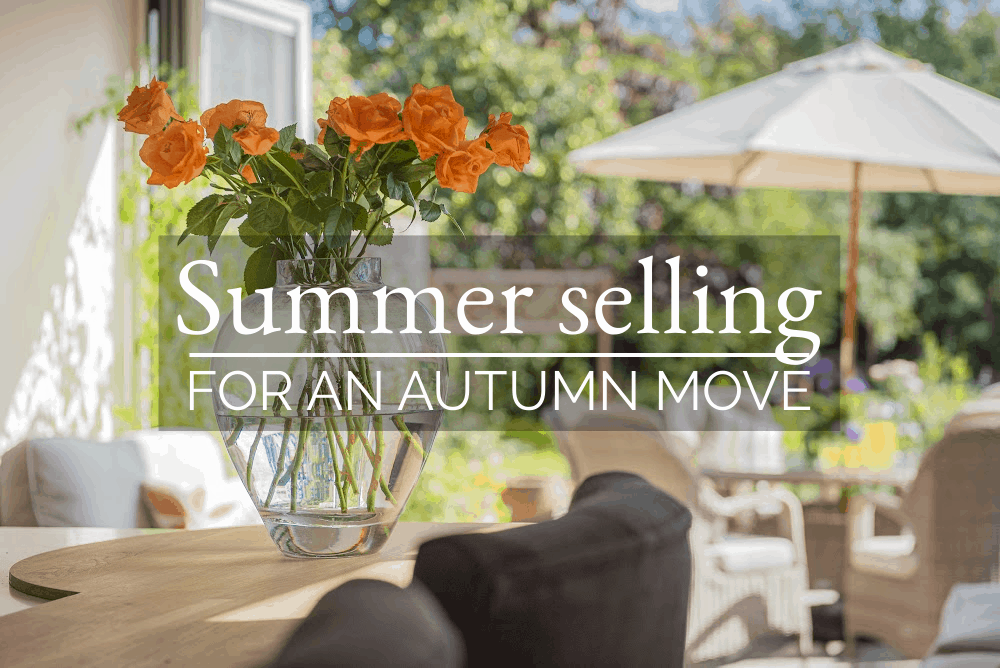Summer selling for an autumn move